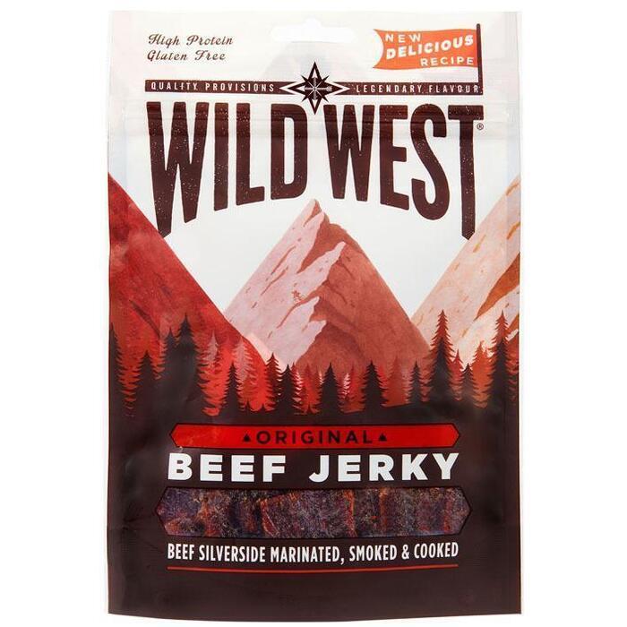 Wild West Beef jerky original (25g)