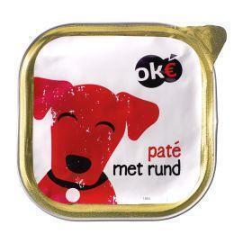 Ok€ Paté met rund voor de hond 300 gr. (300g)
