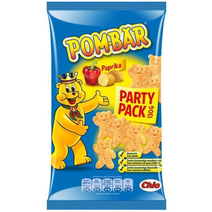 Chio POM BAR Paprika Partypack (130g)