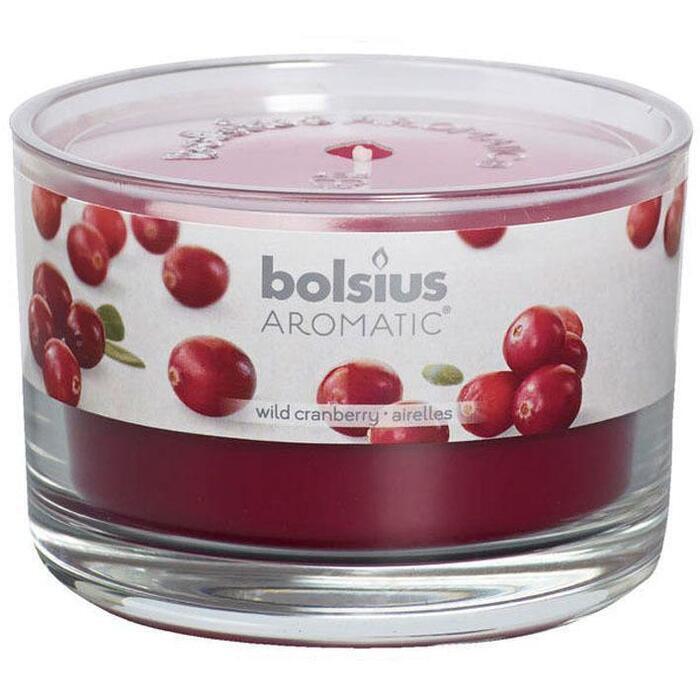 Bolsius Geurglas wild cranberry