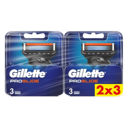 Gillette ProGlide Navulmesjes Voor Scheersysteem Voor Mannen, 2x3 verpakking