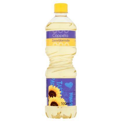 Coppelia Zonnebloemolie (0.5L)