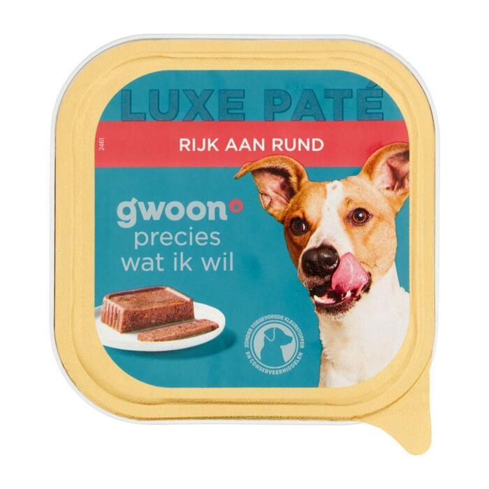 g'woon Pate premium rund hond (150g)