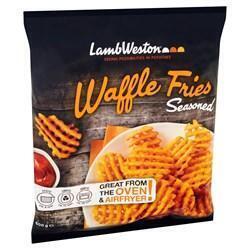 Waffle fries seasoned (600g)