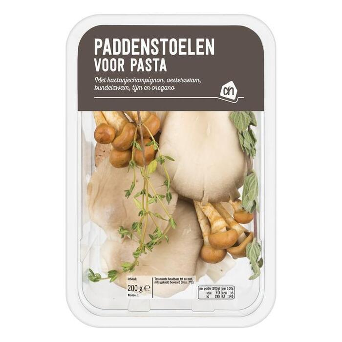 Melange Paddenstoelen voor pasta (bak, 200g)
