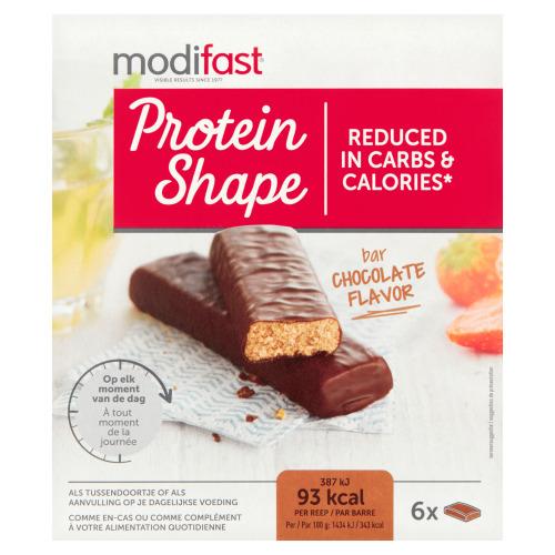 Modifast ProtiPlus Repen Chocolade 6 x 27g (6 × 27g)