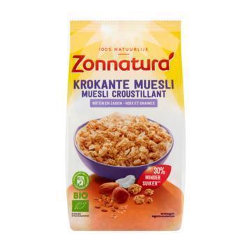 Zonnatura Krokante muesli noten zaden (375g)
