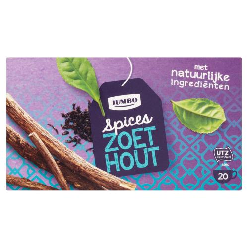 Jumbo Spices Zoethout 20 Theezakjes 40 g (40g)