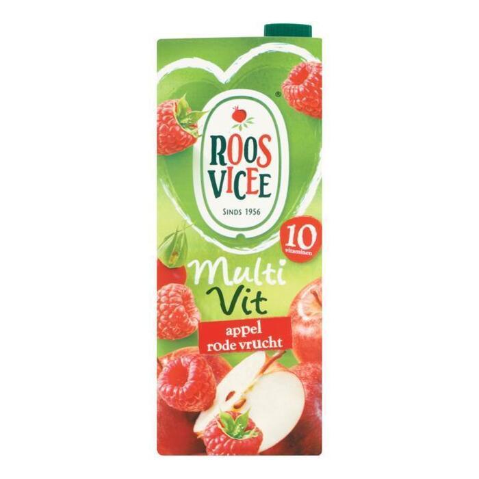 Roos Vicee, Multi Vit Appel Rode Vrucht (rol, 150 × 1.5L)