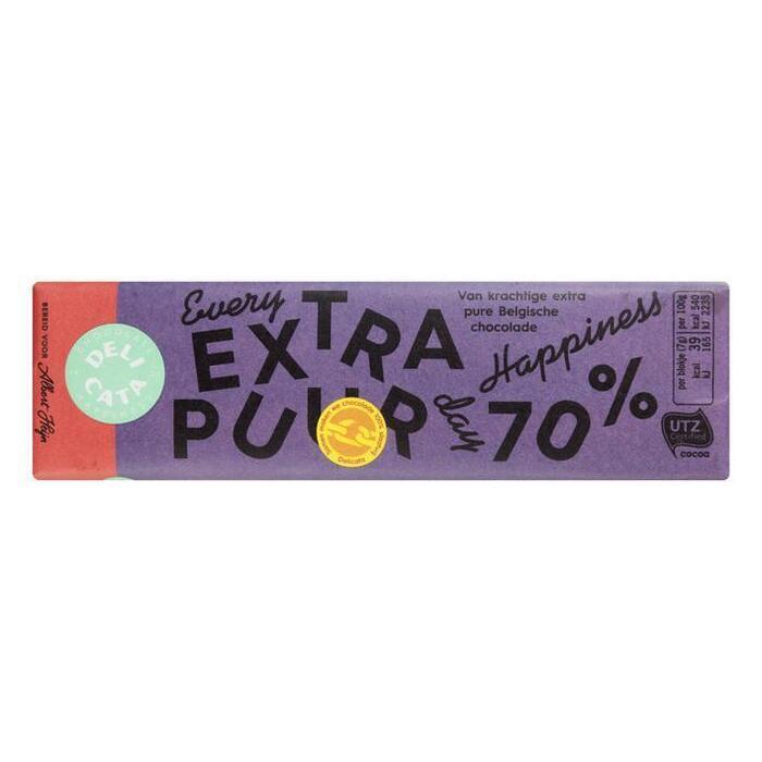 Delicata Reep extra puur 70% (100g)