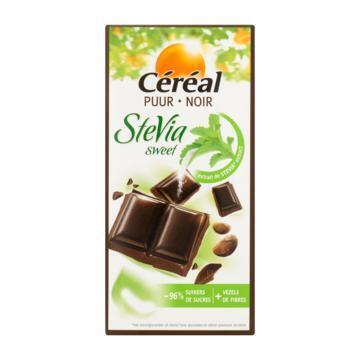 Puur Stevia chocola (reep, 85g)
