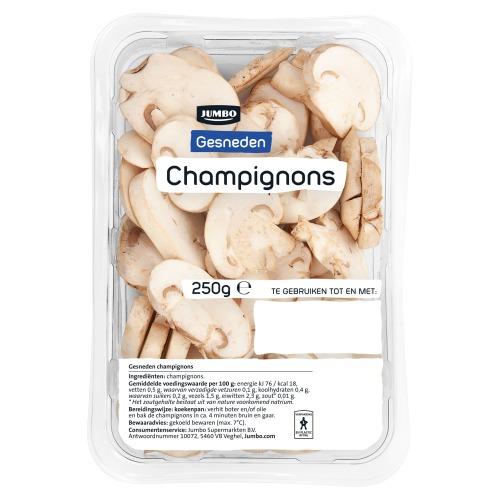 Jumbo Gesneden Champignons 250 g (250g)