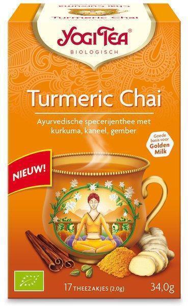 Turmeric chai (builtje)