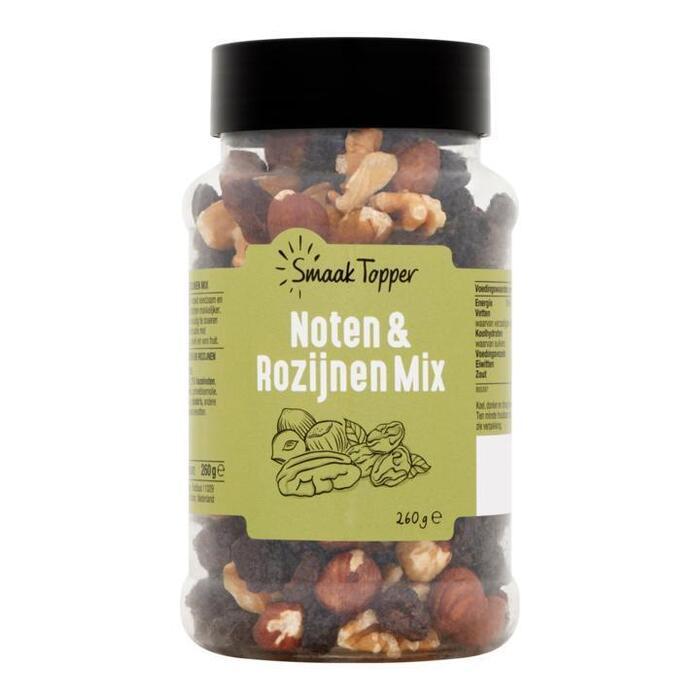 Smaak Topper Noten & Rozijnen Mix 260g (260g)