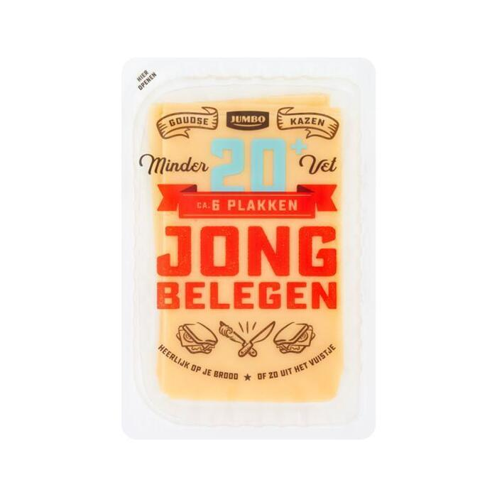 Jumbo Jong Belegen 20+ Plakken 190 g (190g)