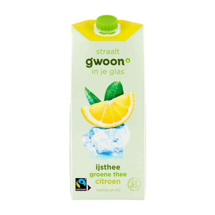 g'woon IJsthee groen citroen (1.5L)