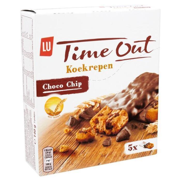 Time Out koekrepen choco chip (Stuk, 140g)