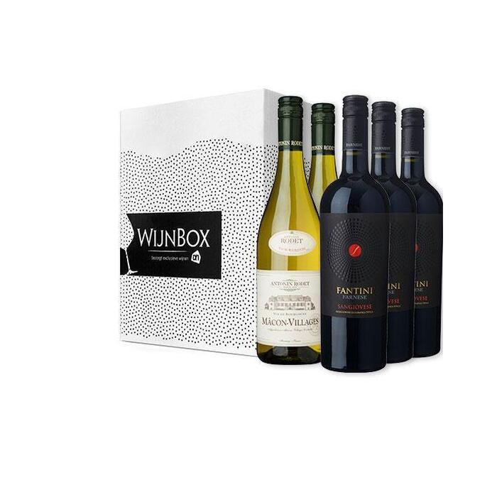 De oven en stoven wijnbox (6 × 0.75L)