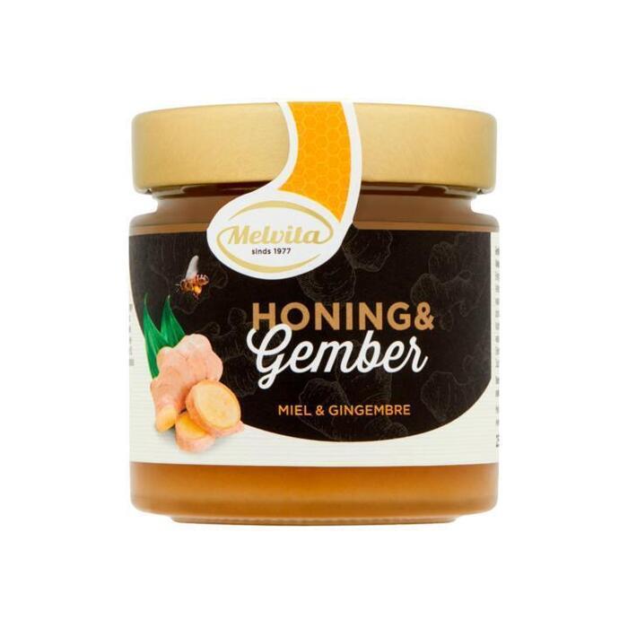 Melvita Honing & Gember 250 g (250g)