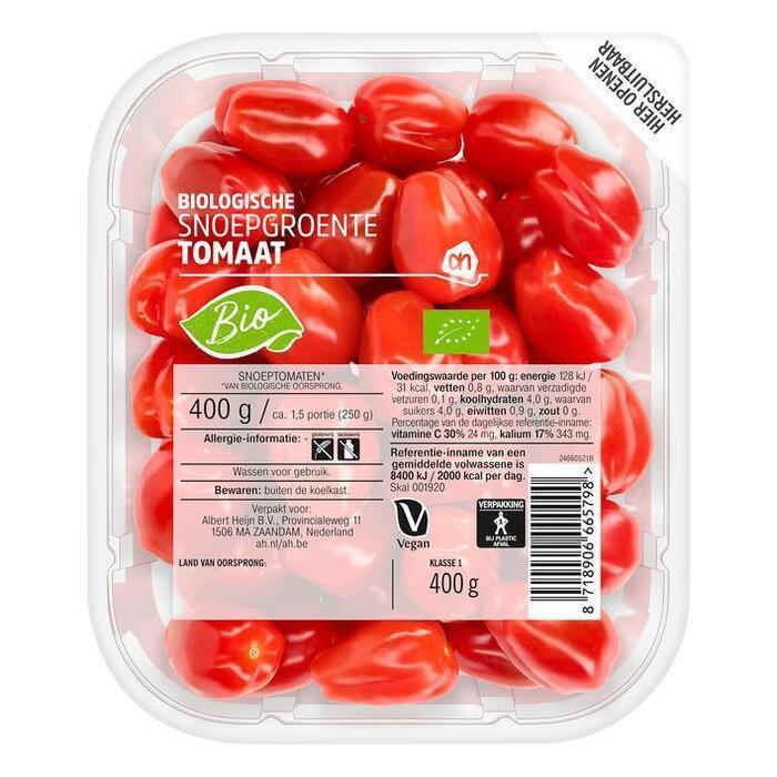 AH Biologisch Snoepgroente tomaat (400g)