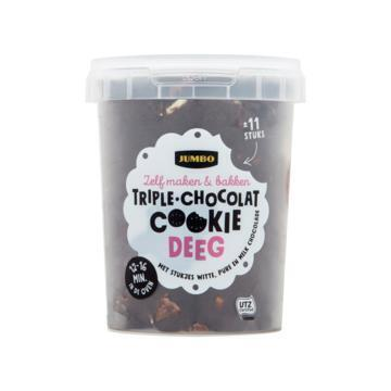 Jumbo Triple Chocolat Cookie Deeg 500 g (500g)