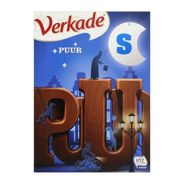 Chocoladeletter Puur (r, 135g)