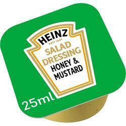 HEINZ SALAD DRESSING HONEY/MUST.100 CUPS (100 × 2.5L)