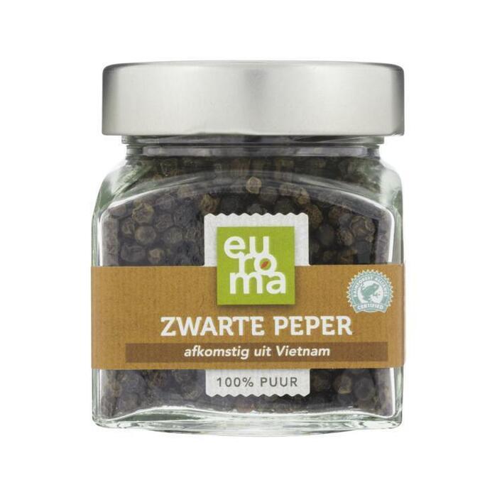 Euroma Zwarte peper (73g)