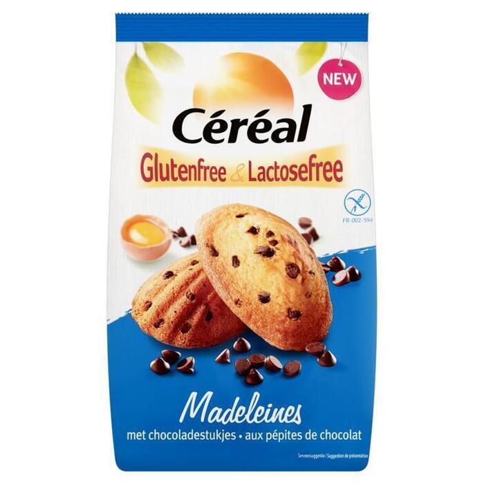 Céréal Lactosefree Madeleines met Chocoladestukjes 7 x 30 g (210g)