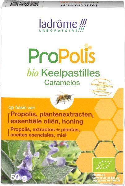 Keelpastilles propolis (5g)