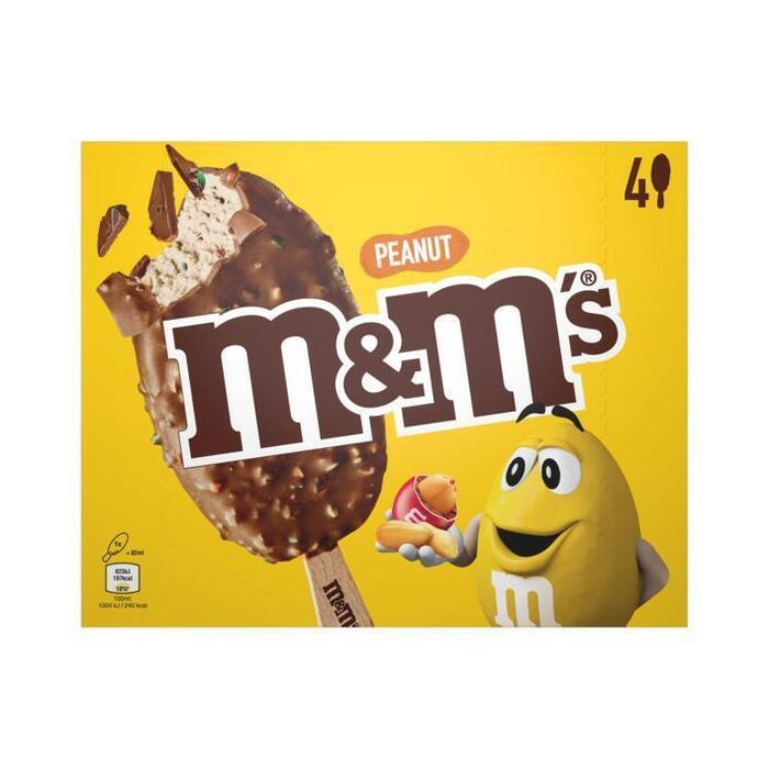 M&M's Peanut handijs (4 × 82ml)