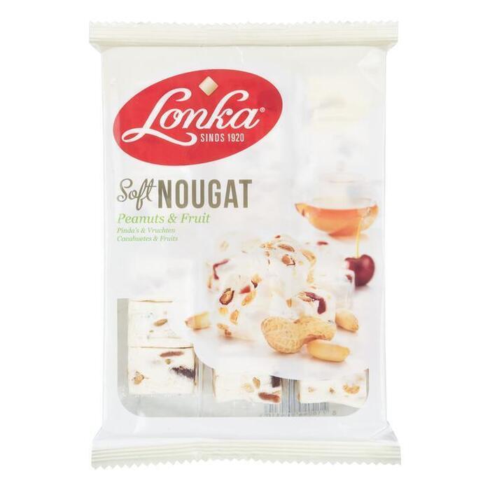 Soft Nougat Pinda's & Vruchten (Stuk, 210g)