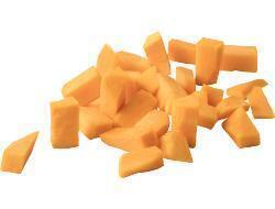 Pompoenblokjes (bak)