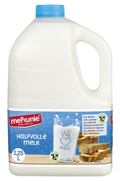 Halfvolle melk (Stuk, 2.25L)