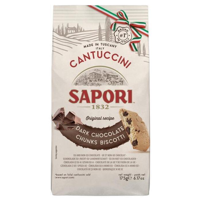 Sapori Cantuccini Dark Chocolate Chunks Biscotti 175 g Zak (175g)