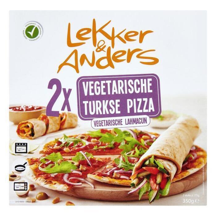 Lekker&Anders Turkse pizza vega (350g)
