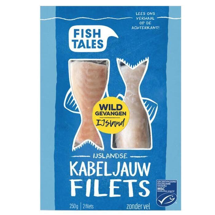 Fish Tales Kabeljauwfilet (250g)