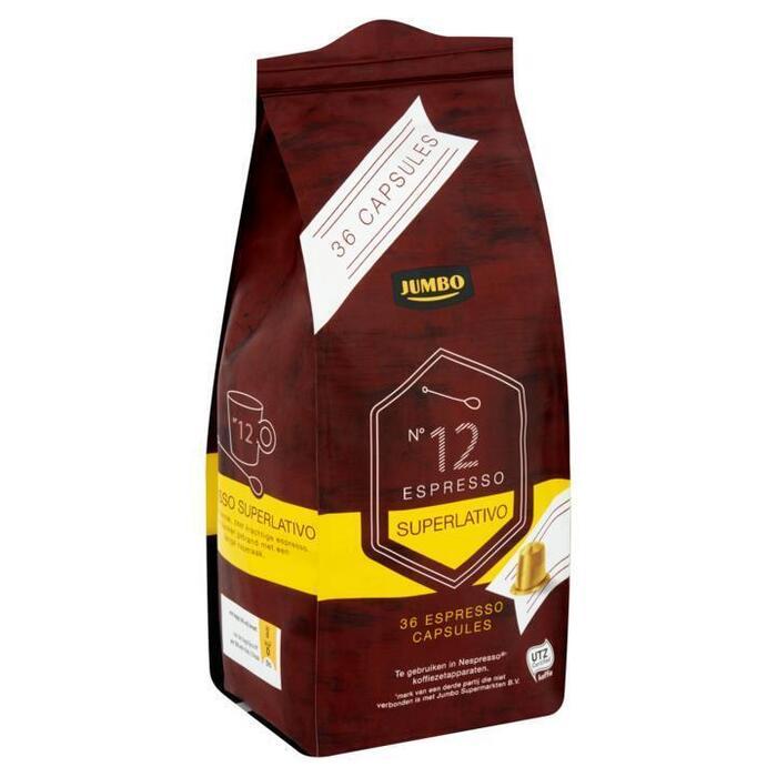 Jumbo N°12 Espresso Superlativo Capsules 36 Stuks (187g)