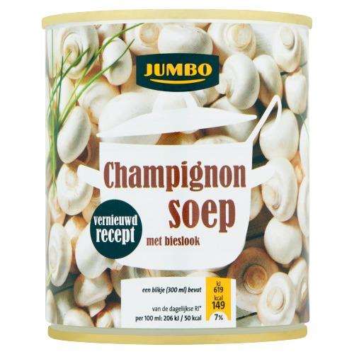 Jumbo Champignonsoep met Bieslook 300ml (30cl)