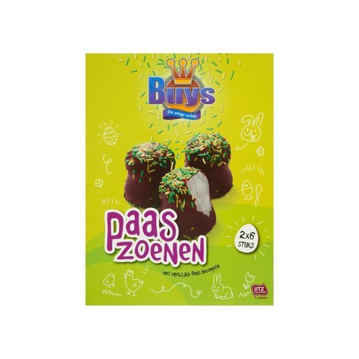 Buys Paaszoenen 6 x 2 Stuks 200g (200g)