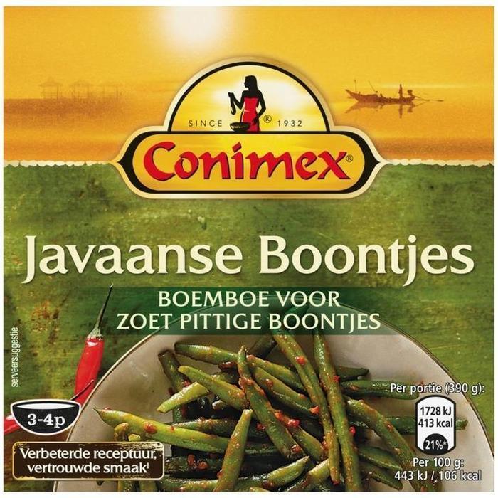 Boemboe Javaanse boontjes (95g)