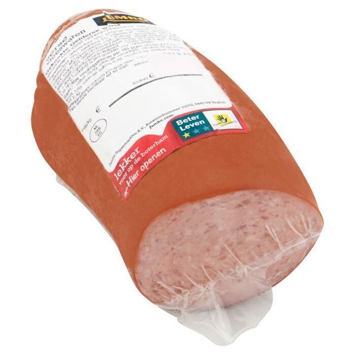 Jumbo Verse Vleeswaren Gekookte Gelderse Worst ca. 250 g