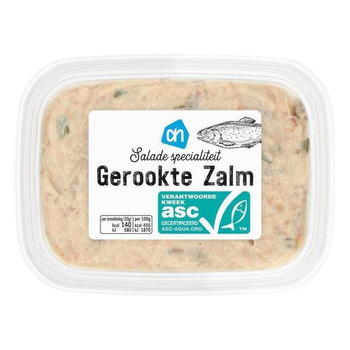 AH Saladespecialiteit gerookte zalm (bak, 150g)