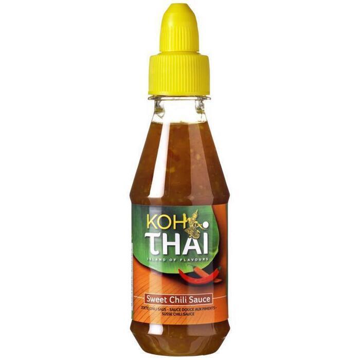 Koh Thai Zoete Chilisaus 200ml (fles, 200ml)
