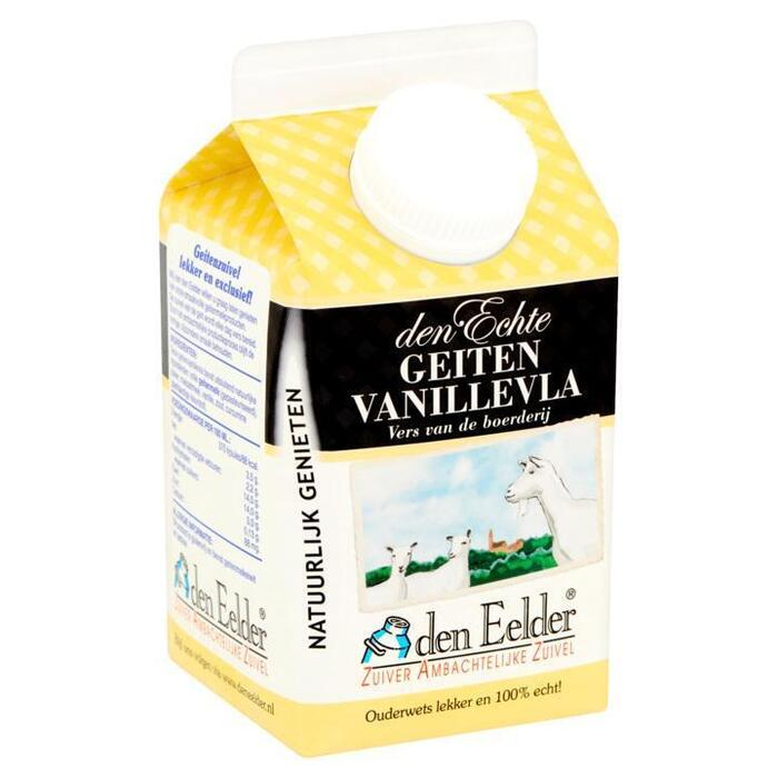 Geiten vanillevla (pak, 0.5L)