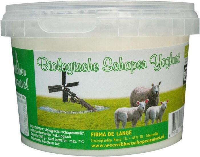 Schapenyoghurt (0.5L)