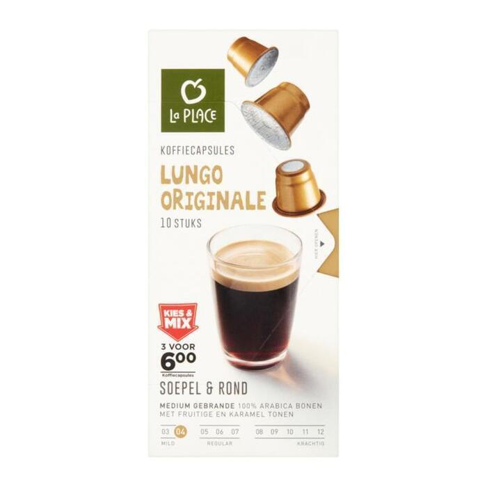 La Place Koffiecapsules Lungo Originale 10 Stuks 60g (60g)