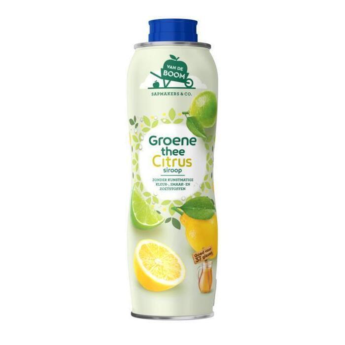 Van de Boom Groene thee citrus (0.75L)