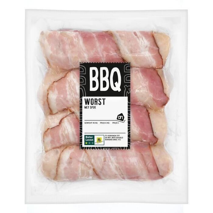 AH BBQ worst met spek (324g)