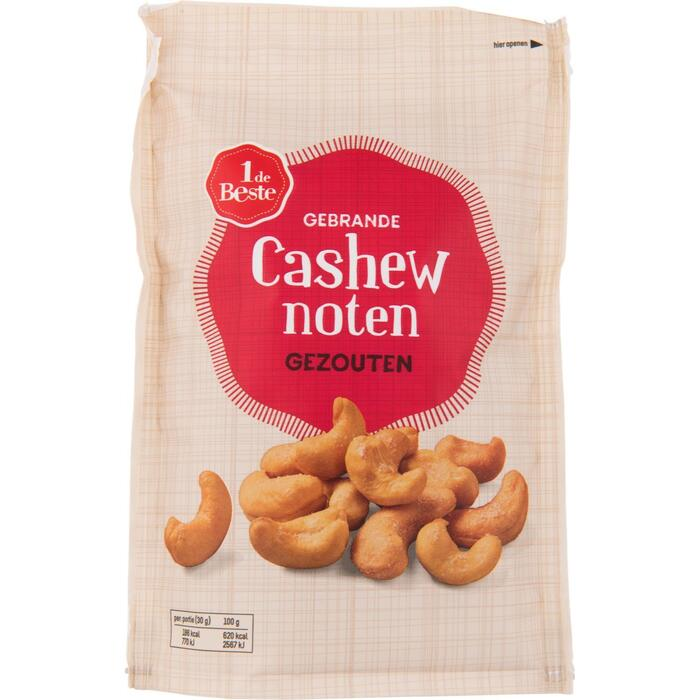 1 DE BESTE cashew noten gezouten 150 gram (150g)